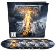 Accept - Symphonic Terror - Live At Wacken 2017 (Earbook) (4 Blu-Ray) (Blu-ray)
