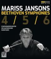 Mariss Jansons. Beethoven. Symphonies 4/5/6 (Blu-ray)
