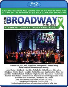From Broadway With Love: Benefit Sandy Hook (Blu-ray)