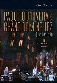 Paquito D'Rivera & Chano Dominguez. Quartier Latin