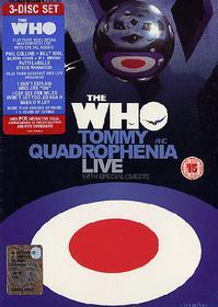 The Who. Quadrophenia and Tommy live with special guests (3 Dvd)