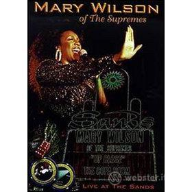 Mary Wilson. Up Close: The Copa Room