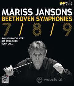 Mariss Jansons. Beethoven. Symphonies 7/8/9 (Blu-ray)
