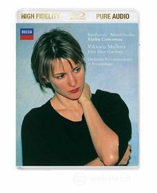 Ludwig Van Beethoven / Felix Mendelssohn - Concerti Per Vl. - Mullova / Gardiner (Blu-Ray Audio) (Blu-ray)