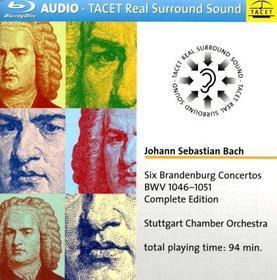 Stuttgart Chamber Choir - Six Brandenburg Concertos (Blu-Ray Audio) (Blu-ray)