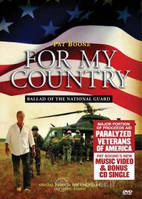 Pat Boone - For My Country: Ballad Of The National Guard (Dvd+Cd) (2 Dvd)