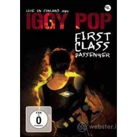 Iggy Pop. First Class Passenger. Live in Finland 1987