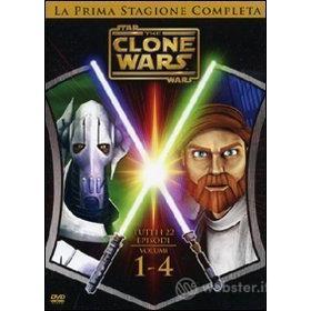 Star Wars. The Clone Wars. Stagione 1 (4 Dvd)