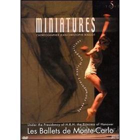 Les ballets de Monte-Carlo. Miniatures