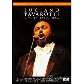 Luciano Pavarotti. Live In Barcelona (2 Dvd)