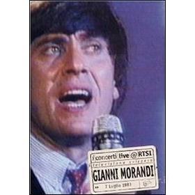 Gianni Morandi. Live @ RTSI