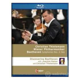 Christian Thielemann. Symphonies Nos. 4-6. Discovering Beethoven (Blu-ray)