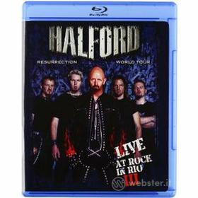 Halford. Live at Rock in Rio III (Blu-ray)