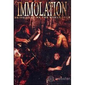 Immolation. Bringing Down the World Tour