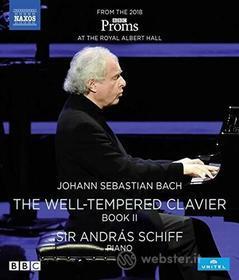 Schiff,Andras - Das Wohltemperierte Klavier, Band 2 (Blu-ray)