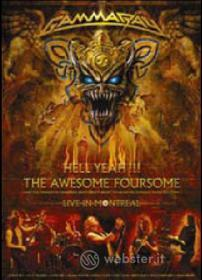 Gamma Ray. Hell Yeah. The Awesome Foursome (3 Dvd)