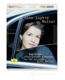 Ludwig Van Beethoven - Violin Concerto, Romances (Blu-Ray Audio) (Blu-ray)