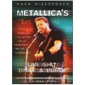 Metallica. Live Shit: Binge & Purge. Rock Milestones
