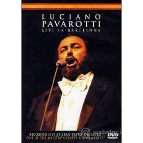 Luciano Pavarotti. Live in Barcelona