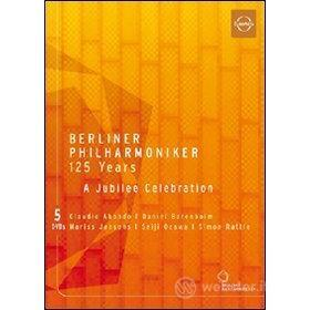 Berliner Philarmoniker 125 Years. A Jubelee Celebration (5 Dvd)