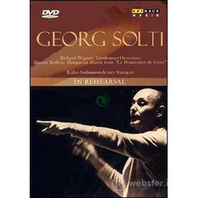 Georg Solti. In Rehearsal
