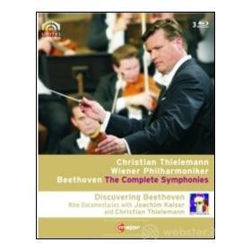 Ludwig van Beethoven. The Complete Symphonies (3 Blu-ray)