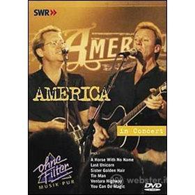 America. In Concert. Ohne Filter
