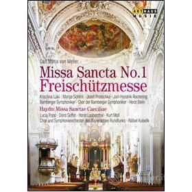Carl Maria Von Weber. missa Sancta N.1 freischützmesse (Blu-ray)