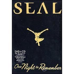 Seal. One Night To Remember(Confezione Speciale 2 dvd)