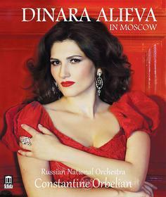 Dinara Alieva: In Moscow - Offenbach, Puccini, Gershwin, Lehar, Torroba.. (Blu-ray)