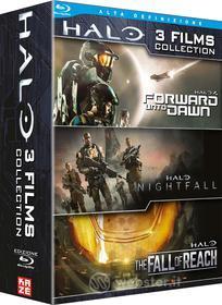 Halo - Forward Unto Dawn / Nightfall / The Fall Of Reach (3 Blu-Ray) (Blu-ray)