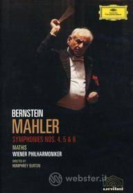 Gustav Mahler. Sinfonia n. 4, 5 e 6. Leonard Bernstein (2 Dvd)