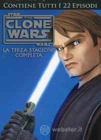 Star Wars. The Clone Wars. Stagione 3 (4 Dvd)