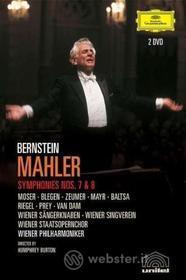 Gustav Mahler. Sinfonia n. 7 e 8. Leonard Bernstein (2 Dvd)