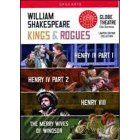 William Shakespeare. Kings & Rogues Box Set (Cofanetto 4 dvd)
