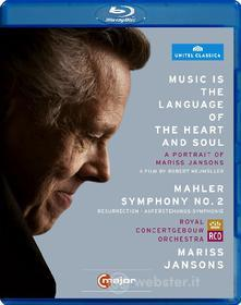Mariss Jansons. Music is the language of the heart and soul. A Portrait (Blu-ray)