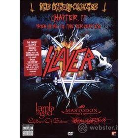 Slayer. Unholy Alliance