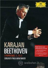 Ludwig Van Beethoven. Symphonies 1, 2 & 3