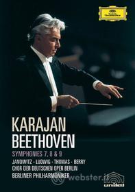 Ludwig Van Beethoven. Symphonies 7, 8 & 9