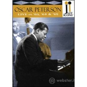 Oscar Peterson. Live in 63, '64 and '65. Jazz Icons