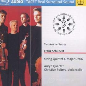 Franz Schubert - String Quintet C Major D 956 - Auryn Quartet / Christian Poltera (Blu-ray)