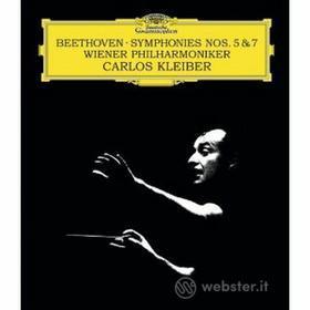 Ludwig Van Beethoven - Sinfonie N. 5 E 7 - Kleiber/wp (Blu-Ray Audio) (Blu-ray)