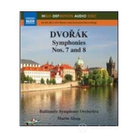Antonin Dvorak. Symphonies Nos. 7 and 8 (Blu-ray)