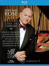 Jerome Rose Plays Brahms Live In Concert (Blu-ray)