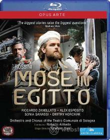 Giacchinio Rossini. Mosè in Egitto (Blu-ray)