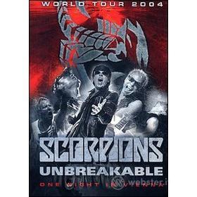 Scorpions. Unbreakable World Tour 2004