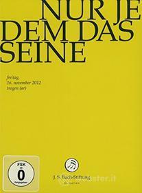 Johann Sebastian Bach  - Nur Jedem Das  Seine