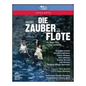 Wolfgang Amadeus Mozart. Il flauto magico. Die Zauberflote (Blu-ray)