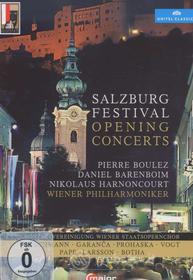 Salzburg Festival Opening Concerts (4 Dvd)