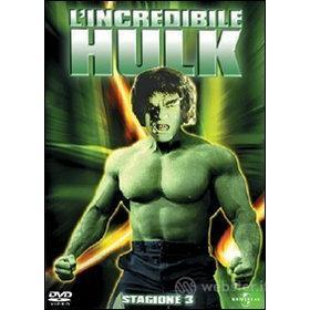 L' incredibile Hulk. Stagione 3 (6 Dvd)
